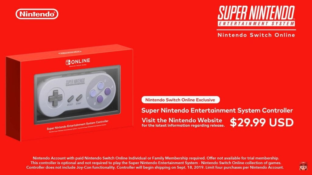 snes en nintendo switch online