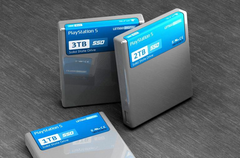 memoria ssd en la playstation 5