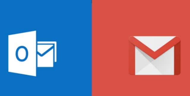 gmail en correo de windows 10